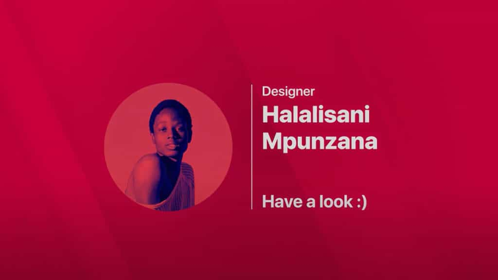 Halalisani Showreel, Graphic Design Courses